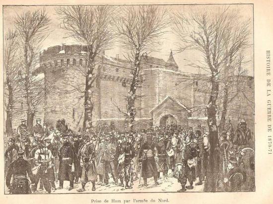 La capitulation prussienne de 1870